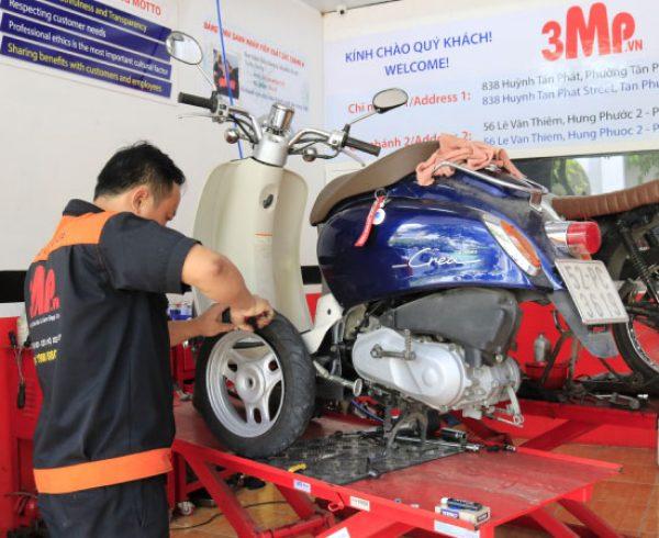 Sửa xe máy chuyên nghiệp